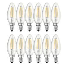12er-pack OSRAM LED base Classic b40 e14 filament 2700k 4w comme 40w Bougies Lampe