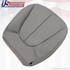 1997-2002 Ford Expedition XLT Driver Bottom Leather Seat Cover Gray