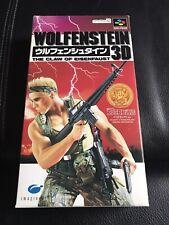 Wolfenstein 3ND SFC Super Famicom Game Japan SNES jp Very Good