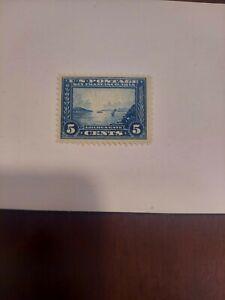 US Scott Stamp # 399 Panama Pacific 5 Cents Blue MNH