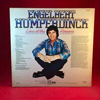 ENGELBERT HUMPERDINCK Live At The Riviera 1983 UK Vinyl LP EXCELLENT CONDITION #