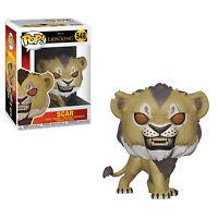 Funko Disney Lion King POP Scar Vinyl Figure NEW IN STOCK