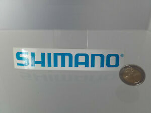 Original SHIMANO Aufkleber 136mm*26mm Angeln,Angelaufkleber,Fahrradschaltung
