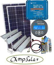 200 Watt MPPT Solaranlage Wohnmobil Victron 75/15 mit MPPT Control Fernanzeige