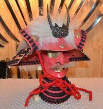 CAS Hanwei Takeda Singen Helmet Japanese Samurai AH2082 Kabuto Menpo