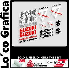 KIT STICKERS ADESIVI SUZUKI KATANA GS650 - 550  1980-81