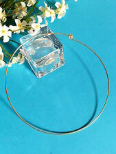 028 #Superb Necklace Tough / Rigid Golden For All Jewelry Creation Pendants