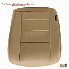 2005 06 2007 Ford F250 F350 Lariat CREW PASSENGER Bottom Leather Seat Cover TAN
