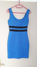 Robe de soirée sexy moulante bleu roi FOREVER 21 T34/36