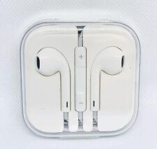APPLE iPhone 4 5 6 Plus 6S + iPod iPad Original OEM Earbuds Headphones 3.5mm NEW