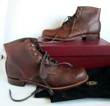 NEW Wolverine 1000 Rust Laced Leather Mens Boots - SZ 13 D