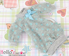 ☆╮Cool Cat╭☆327.【NK-31】Blythe Pullip Puffed Sleeves Clothes # Sky Blue Dot
