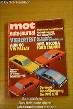 MOT 24/73 Opel Ascona A VW K 70 LS Simca 1100 TI