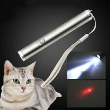 600Miles 2in1 Red Laser Pointer Pen with Led Flashlight Aa Lazer Dog Cat Pet Toy