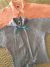 Womens Knitted Nightwear Bed Jackets Crochet Design by Lady Olga