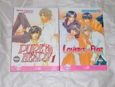 PURE HEART 1 - 2 Manga by Hyouta Fujiyama - LOVER'S FLAT - Yaoi  EXPLICIT Mature
