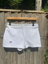 Vintage Adidas White Tennis Shorts Size 14 (Really Size 10)