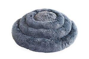 EcoPets® Plush Donut Style Dog Bed, Super Soft, Washable, Large Sizes,UK Company