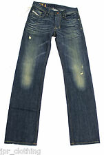 BRAND NEW DIESEL LARKEE 8Y3 JEANS 008Y3 30X34 REGULAR FIT STRAIGHT LEG RRP £130