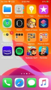 Apple iPhone SE - 32GB - Gold (Unlocked)(with Fortnite)
