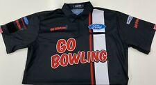 NASCAR Stewart Haas Racing Team Issued Race Used Crew Shirt Go Bowling Large