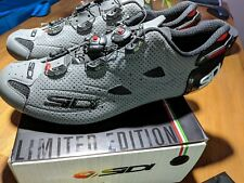 Limited Edition 2020 Sidi SHOT AIR Carbon Road Cycling Shoes MATTE Grey size 45