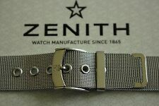 NOS 18MM FINEST MILANESE MESH S/S WATCH BAND WATCHBAND BRACELET STRAP FOR ZENITH