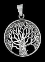 Lebensbaum Anhänger Silber Gothic Schmuck - NEU