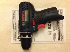 "New Bosch PS31 12V 12 Volt Max 3/8"" Drill Driver Cordless Li-Ion 2 Speed"