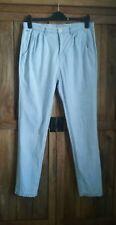 Tommy Hilfiger designer summer denim jeans trousers light size UK 10 / UK 12