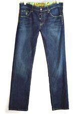 Rich & Skinny Super Studly Jeans Size 25 x 30 Dark Denim Studs Button Fly