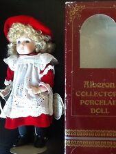 "Alberon Dolls Finest Porcelain ""Dora"" Girl Doll - Boxed"