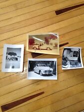 Vintage Black & White 40s Pictures Lot of 4 Pretty Woman Plymouth Car FREE SHIP