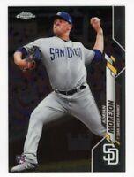 2020 Topps Chrome #86 ADRIAN MOREJON San Diego Padres REAL LOGO ROOKIE CARD RC