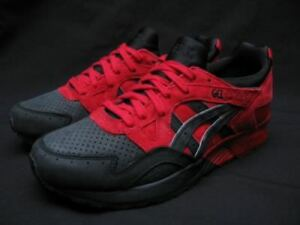 ASICS GEL LYTE V LOVE HATE  PACK (RED / BLACK) QS SUPER RARE  SZ 11.5