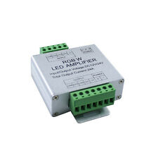 RGBW RGB+W LED Signal Verstärker Zubehör Power Amplifier 288W 12V / 576W 24V 24A