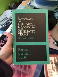 A Dictionary Of Literary, Dramatic, And Cinematic Terms 2nd Edition Paperback