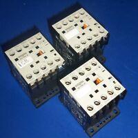 ENTRELEC SCHIELE 24VDC COIL 10A CONTACTOR KHDCS-31 *LOT OF 3* *PZF*