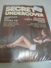 Pantyhose SECRET UNDERCOVER Vintage Silky Control Top Taupe C Sealed Canada