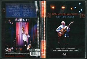 TOMMY EMMANUEL - CENTER STAGE DVD