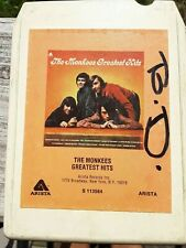 The Monkees Greatest Hits 8-Track used 1972