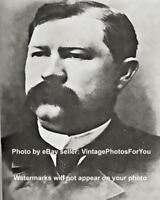 Wild West OK Corral Marshal Sheriff Virgil Earp Wyatt Earp Brother Photo Picture