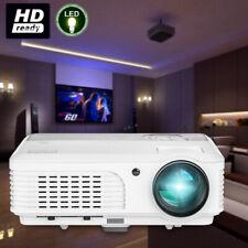 5000lms HD Beamer Heimkino Projektor 1080p Fußball Spiel Spaß TV HDMI USB VGA DE