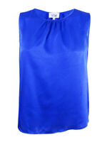 Le Suit Women's Plus Size Sleeveless Top 18W, Cobalt