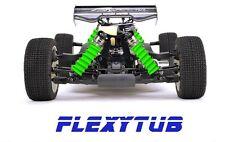 FlexyTub verde flúor (G01) Mugen, TLR, serpent, Kyosho, xray, Team Associated.