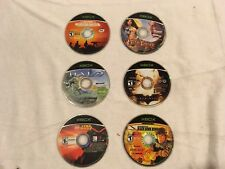 Microsoft Xbox Six Games: Conflict Desert Storm, Jade Empire, Halo, & More