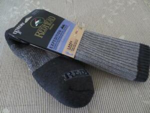 Red Head Expedition Merino Wool Men's Socks Size Large