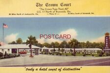 The Crown Court U.S 17 north of Brunswick, Ga. W Z Saskill, Owner
