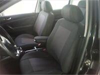 Pour Peugeot Opel Housses Couvre Sieges Jeu Complet Luxe Noir