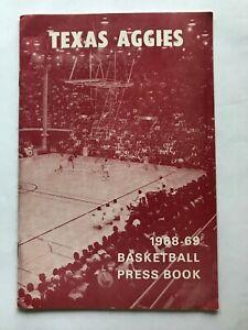 1968-69 Texas Aggies men's basketball media guide.  NCAA